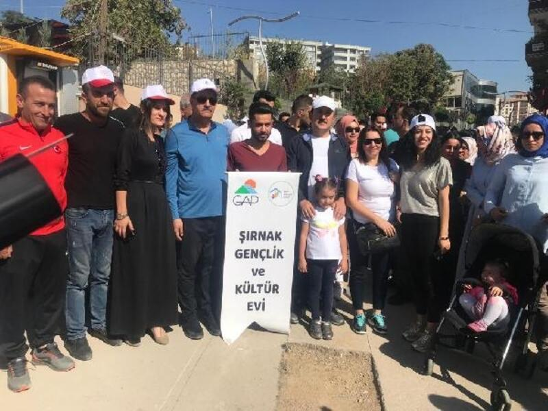 Şırnak'ta 'Beraber Yürüyelim' etkinliği