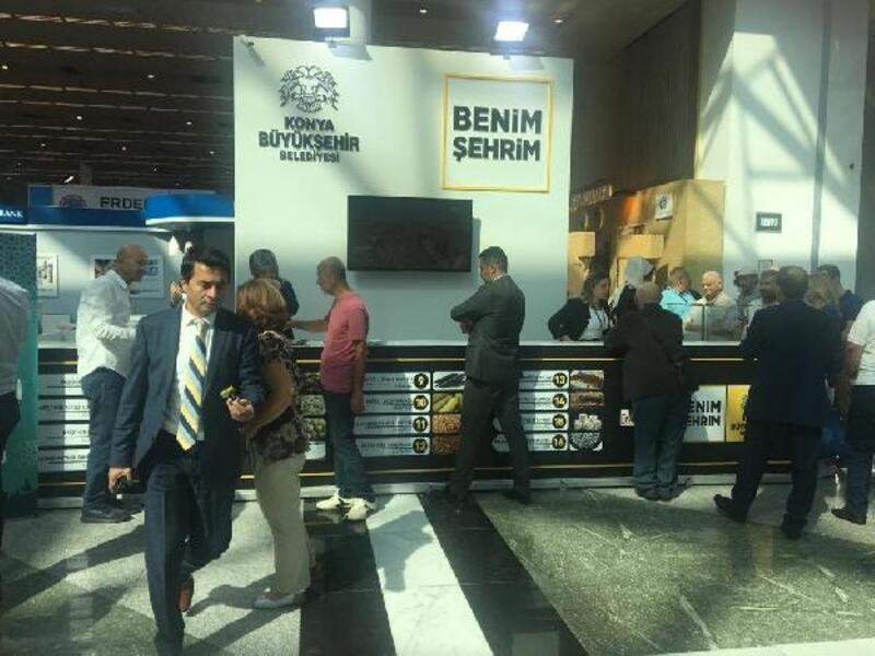 Akşehir'in coğrafi işaretli ürünleri Ankara'da tanıtıldı