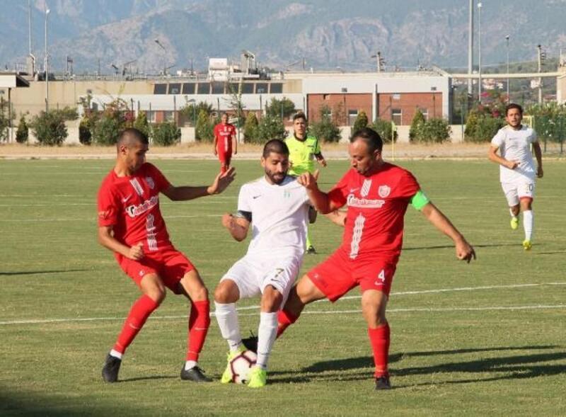 Manavgat, Kepez'i 3 golle geçti
