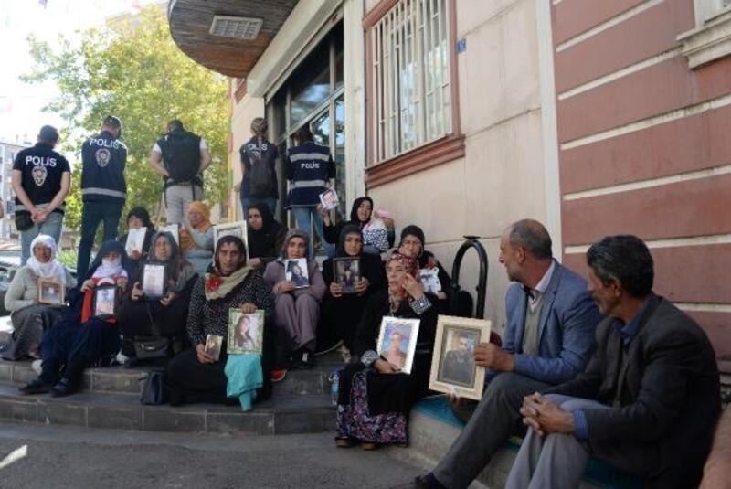 HDP önündeki eylemde 21'inci gün