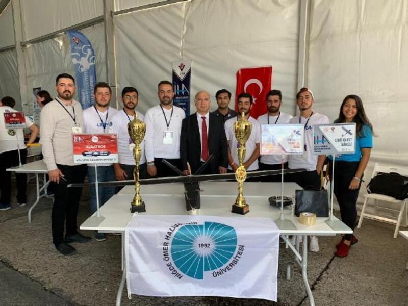 Niğde Ömer Halisdemir Üniversitesi'ne TEKNOFEST'te dünya ikinciliği