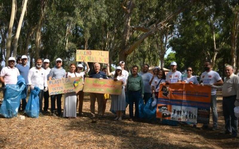 Akdeniz'de 'dünya temizlik günü' etkinliği