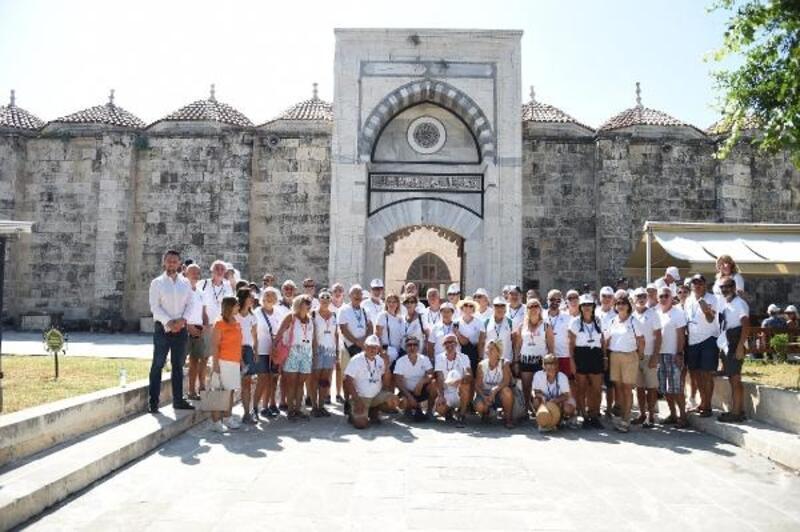 Yelkenciler Tarsus'a hayran kaldı