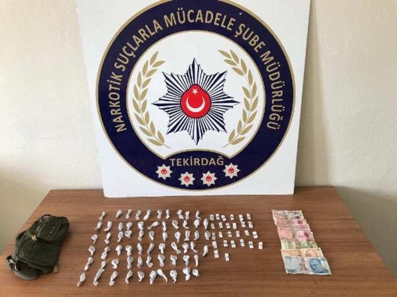 Çorlu'da uyuşturucu operasyonunda 3 gözaltı
