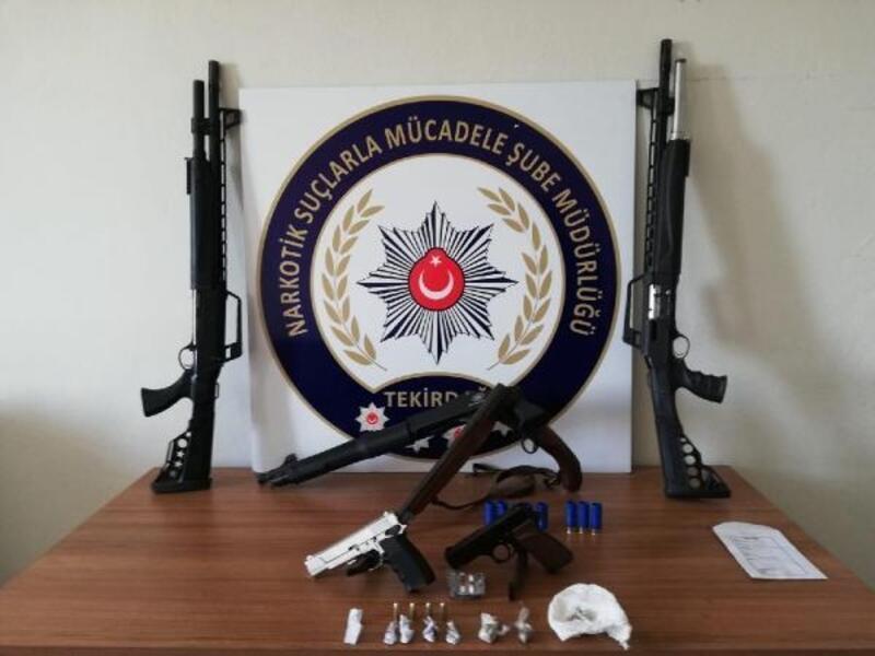 Çerkezköy'de uyuşturucu operasyonu: 11 gözaltı
