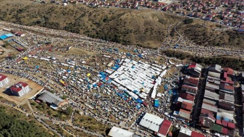 Gerede panayırına 100 binin üzerinde kişi geldi