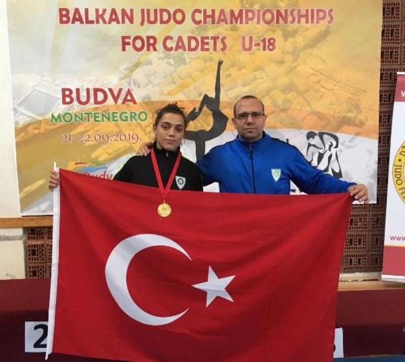 Manisalı Fidan Balkan Şampiyonu
