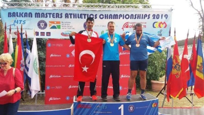 Balkan şampiyonundan 5 dalda 5 madalya