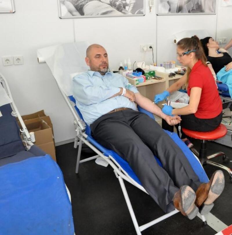 Orhangazi'de 'Kan Bağışı Kardeşliği' projesi hayata geçti