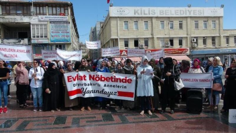 Kilisli annelerden Diyarbakırlı annelere destek