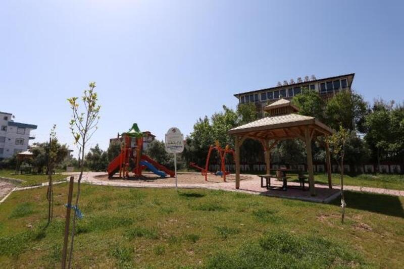 Kepez'e 21 yeni semt parkı