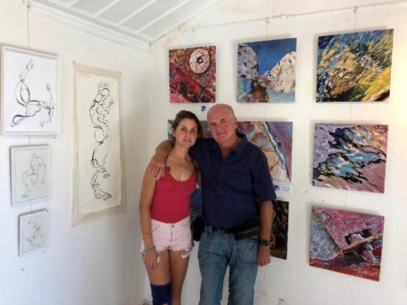 İki sanatçıdan ortak sergi