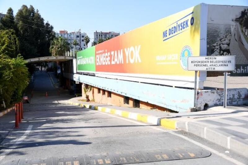 Mersin'de otopark sorunu çözülüyor