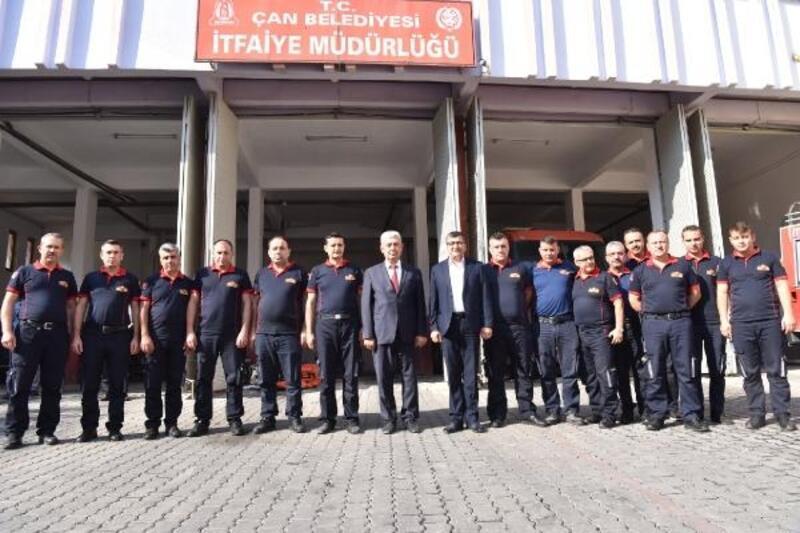 Başkan Öz, itfaiye personeliyle bir araya geldi