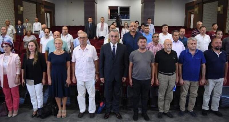 Semih Esen, Konyaaltı Kent Konseyi Başkanı seçildi