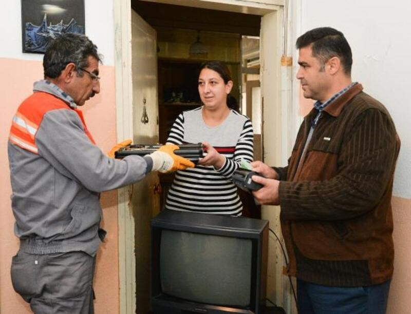 E-atıklar Çevreci Komşu Kart'ta