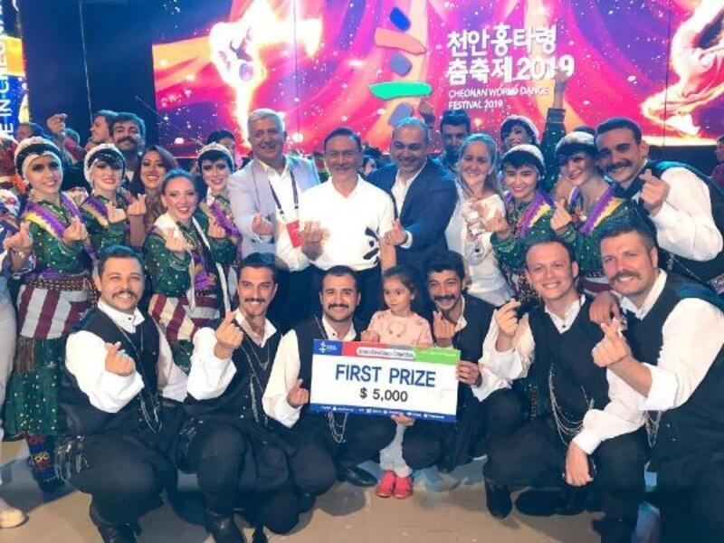 Türk Halk Oyunları Topluluğu'ndan dünya birinciliği