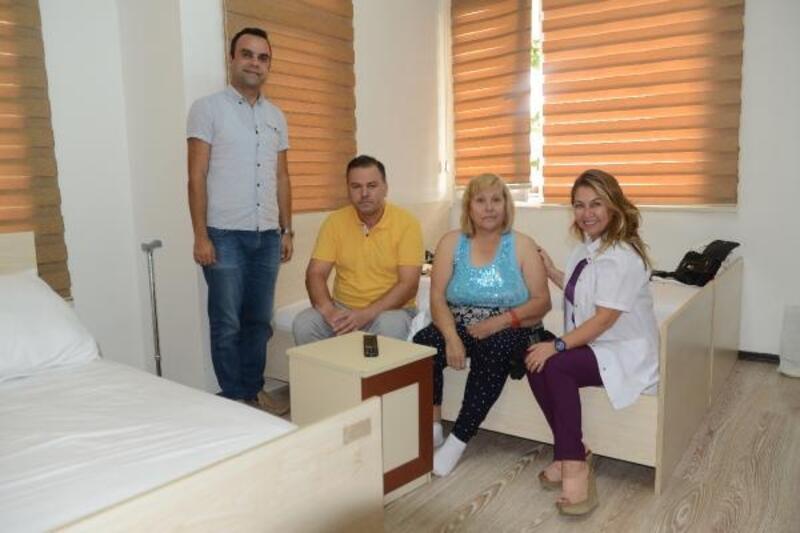 Hasta ve yakınlarına otel hizmeti