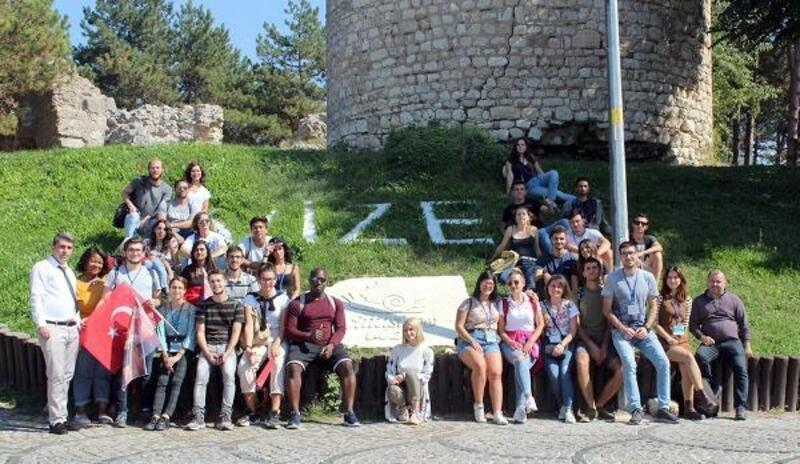 Erasmus öğrencileri Vize'yi ziyaret etti