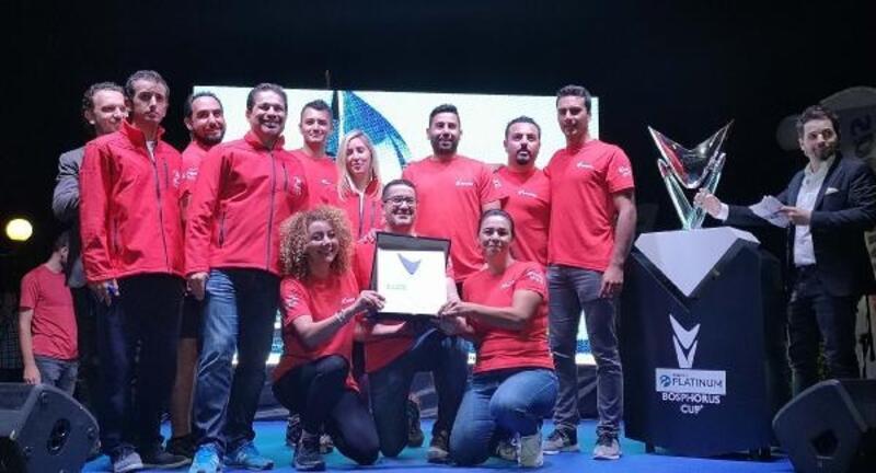 Boğazın şampiyonuı Corendon Sailing Team