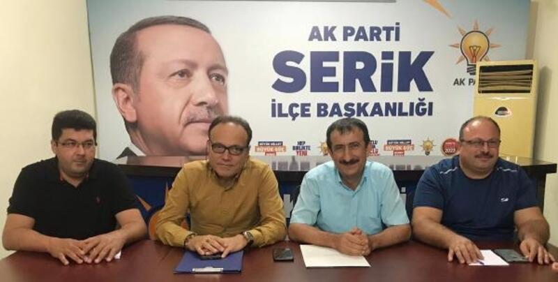 AK Parti Serik'e Karabay getirildi