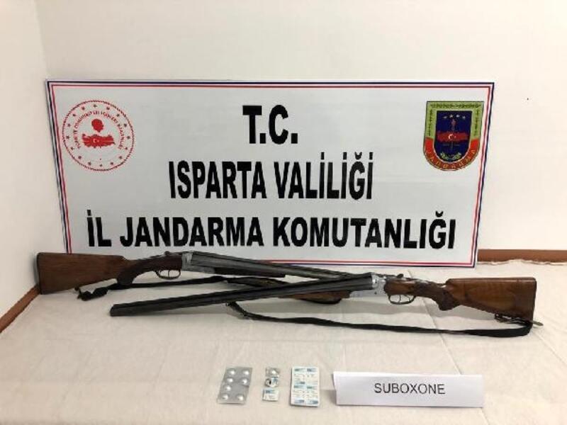 Isparta'da uyuşturucu operasyonu: 2 tutuklama