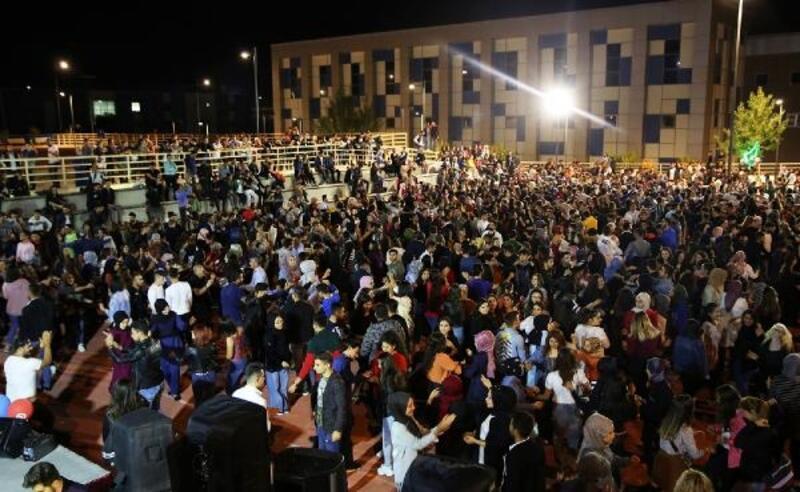 Çankırı'da, 'Üniversitene Hoş Geldin Konseri'