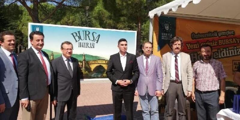 Bursa'da üniversite öğrencilerine sıcak karşılama