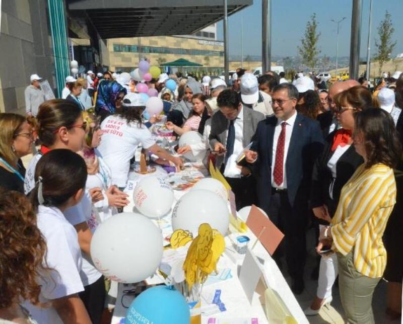 """Bursa Şehit Hastanesi'nde """"Bebek Dostu Sokağı"""" açıldı"""