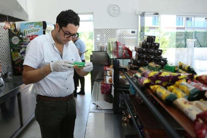 Merkezefendi'deki kantinlerde gıda ve hijyen denetimi