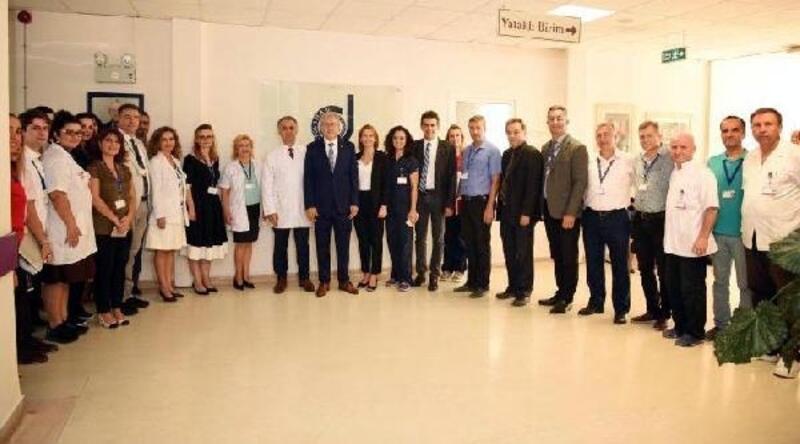 EÜ Hastanesi Dermato-Onkoloji Ünitesi yenilenerek hizmete açıldı