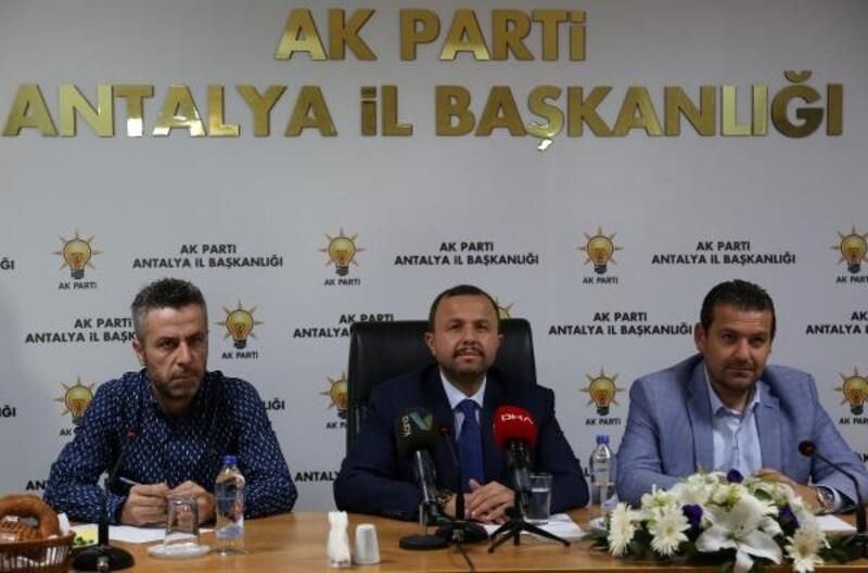 AK Parti İl Başkanı Taş: Bize bilgi aktarıyorlar