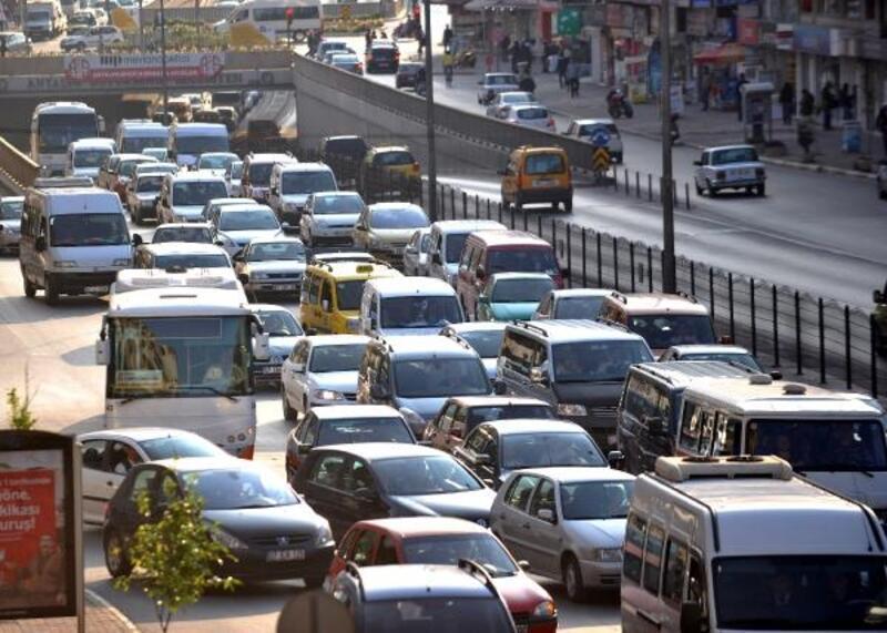Antalya araç sayısı bakımından 4'üncü sırada