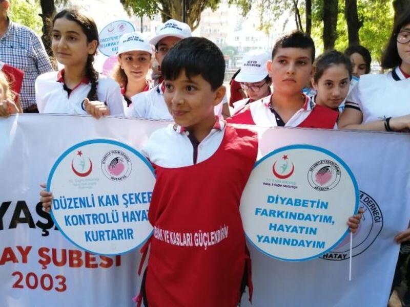 Hatay'da Dünya Yürüyüş Günü etkinliği