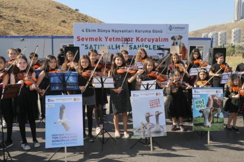Çankaya'da 'Hayvanları Koruma Günü' konseri
