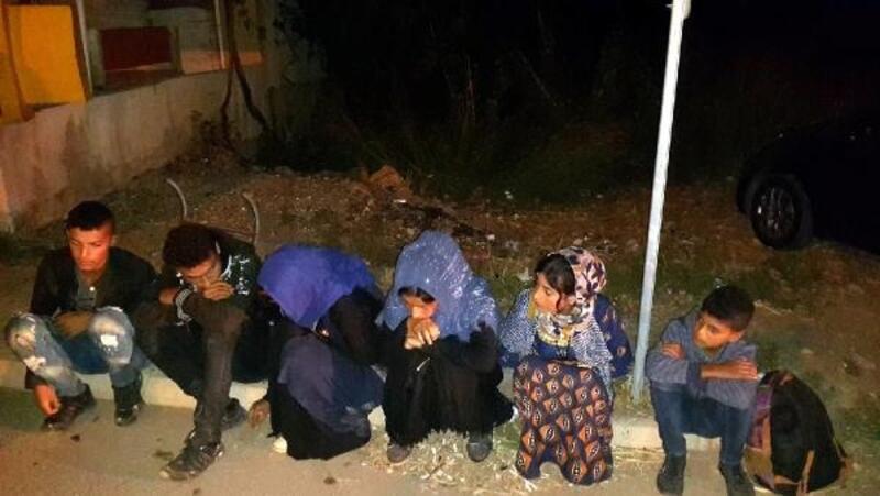Kırıkhan'da 6 düzensiz göçmen yakalandı