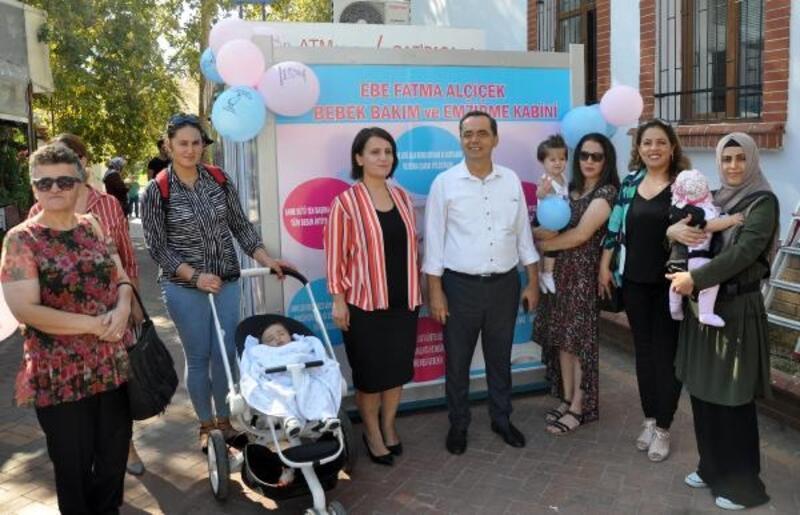 Gazipaşa'da emzirme evi açıldı