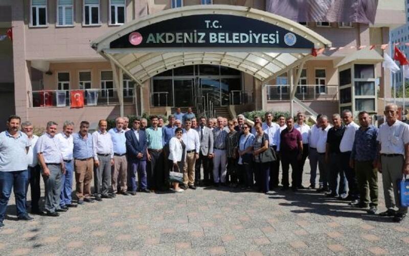 Muhtarlar Federasyonu'ndan Başkan Gültak'a teşekkür ziyareti