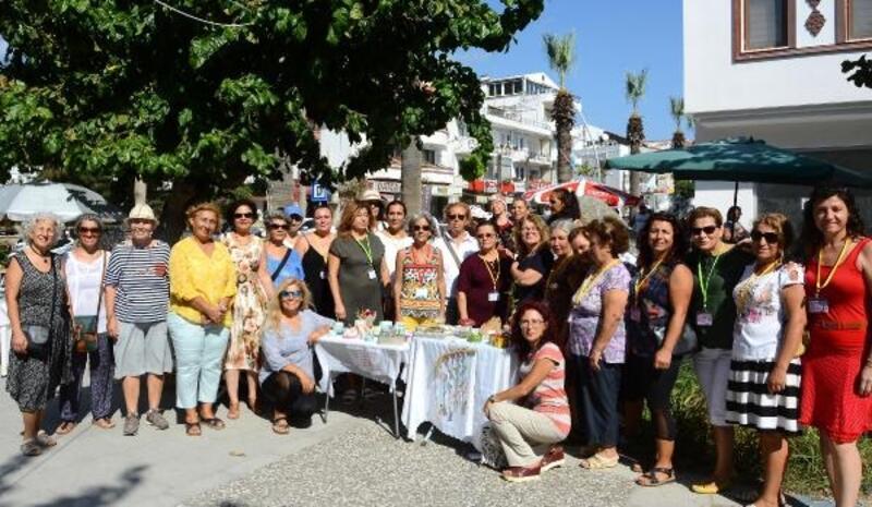 Datça'da kadınlardan eğitime destek kermesi