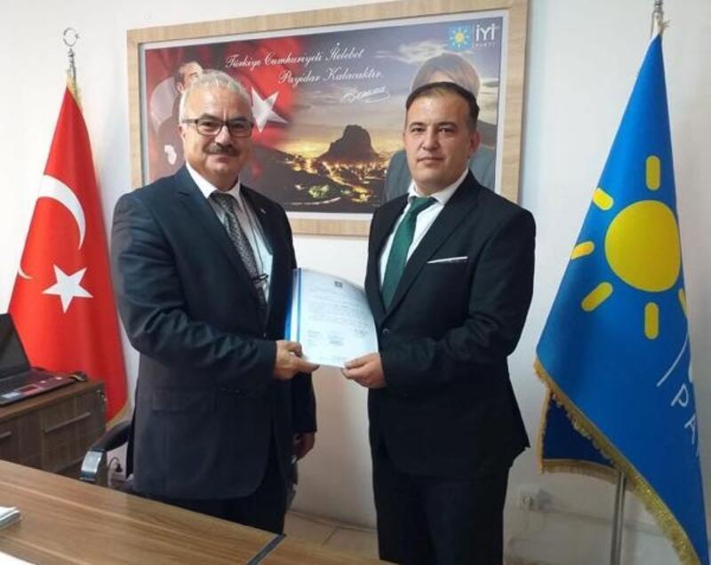 İYİ Parti Dinar'a Sayın atındı