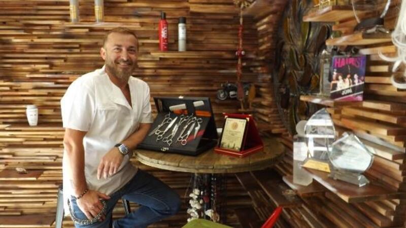 Dubai'de saçlar, Türk saç tasarımcısına emanet