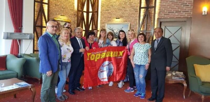 Başkan Büyükkılıç, Ukraynalı turizmcilerle bir araya geldi