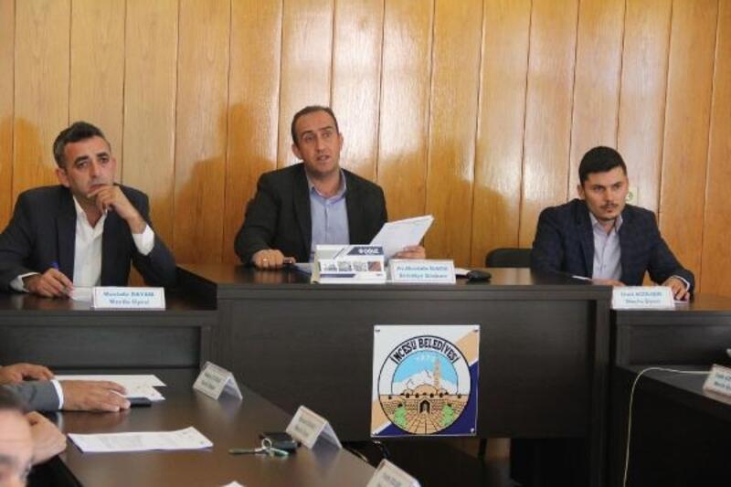 İncesu'da Ekim ayı toplantısı yapıldı