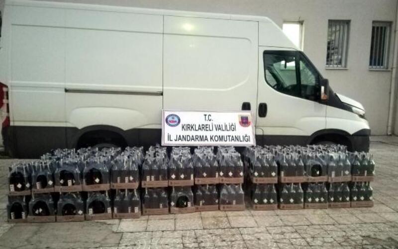 Kırklareli'de kaçakçılık operasyonu