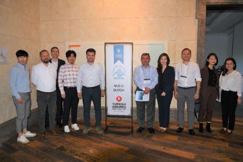 Bursa'nın tanıtımı Güney Kore'de yapıldı