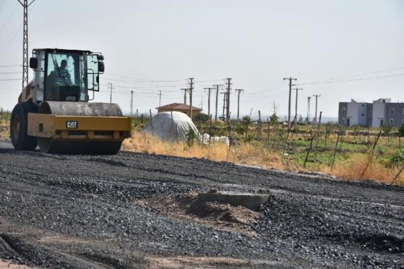 Bağlar Belediyesi'nden bazalt taşlarıyla bir yol daha