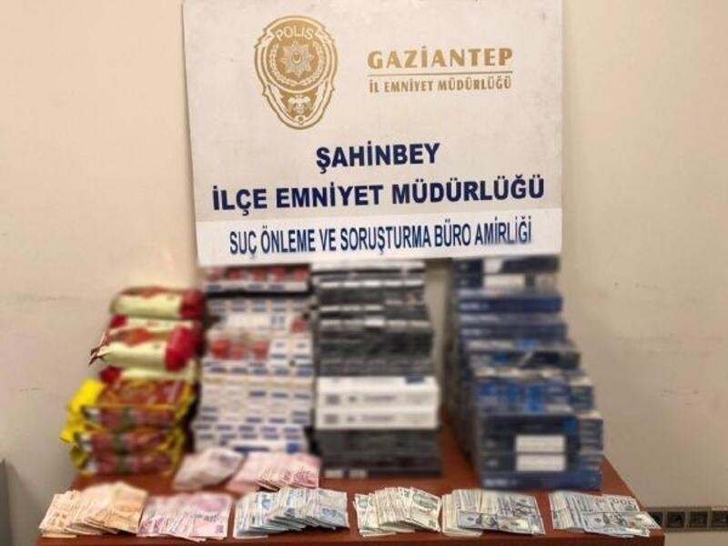 Gaziantep'te kaçakçılık operasyonu: 1 gözaltı