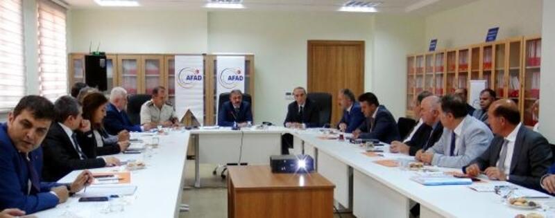 Burdur'da TAMP toplantısı yapıldı