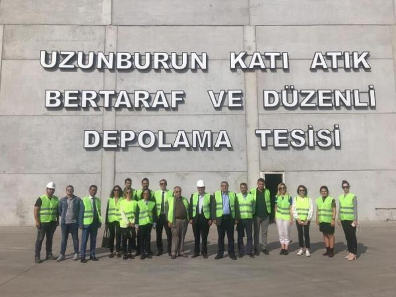 Manisa'daki katı atık bertaraf tesisine İzmir'den inceleme
