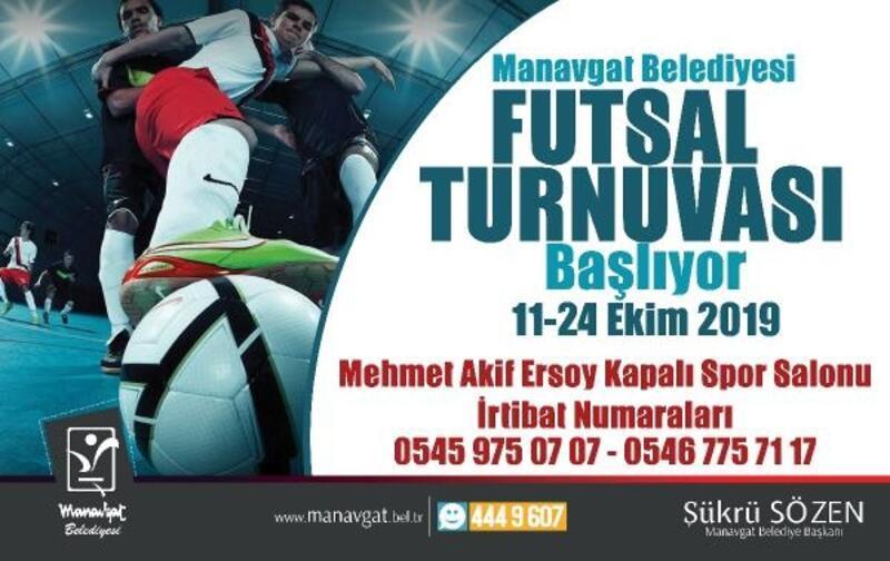 Manavgat'ta futsal heyecanı başlıyor